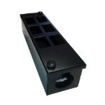 Cablenet 6 Way POD Box Vertical Row LJ6c 56mm Deep 32mm Entry