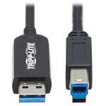 "Tripp Lite U328F-30M USB cable 1181.1"" (30 m) USB 3.2 Gen 1 (3.1 Gen 1) USB A USB B Black"