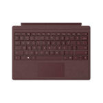 Microsoft Surface Pro Signature Type Cover mobile device keyboard Burgundy QWERTY UK English Microsoft Cover port