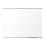 Nobo Pizarra blanca Basic no magnética melanina 2400x1200 mm con marco básico