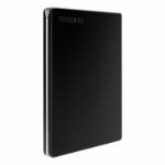 Toshiba Canvio Slim external hard drive 1000 GB Black