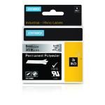 DYMO 18485 Black on metallic label-making tape