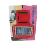 TARGET iPhone 4 & 4S Activity Armband Red