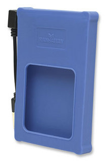 "Manhattan Drive Enclosure 2.5"" Blue 2.5"" USB powered Blue"