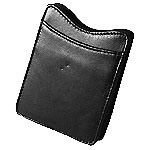 Garmin Leather carrying case Leather Black