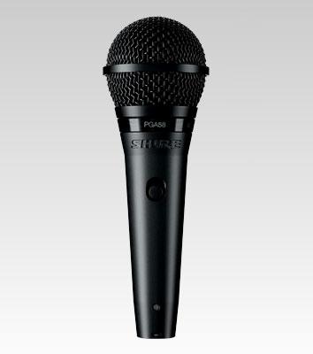 Shure PGA58-XLR Black Stage/performance microphone