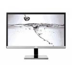 """AOC U2477PWQ 23.6"""" 4K Ultra HD PLS Black,Silver LED display"""