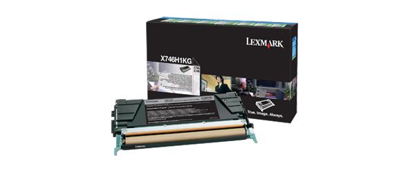 Lexmark X746H1KG Toner black, 12K pages