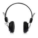 Acteck AF-540 3,5 mm Biauricular Diadema Negro auricular con micrófono