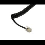 Cables Direct RJ-10 3m Black