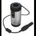 Trust 20838 cargador de dispositivo móvil Auto Negro, Azul, Metálico