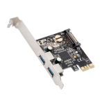 SYBA SD-PEX20158 interface cards/adapter USB 3.0 Internal