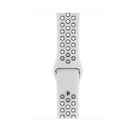 Apple MX8F2ZM/A accesorio de smartwatch Grupo de rock Negro, Platino Fluoroelastómero