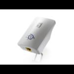 LevelOne Wireless Range Extender, 300Mbps 802.11b/g/n, EU Power Plug