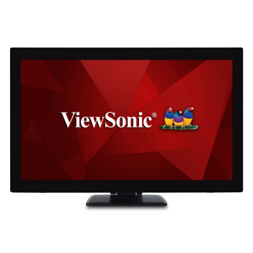 """Viewsonic TD2760 touch screen monitor 68.6 cm (27"""") 1920 x 1080 pixels Black Dual-touch Multi-user"""