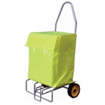 VFM FOLDING WHIZZER W/LRG TROLLY BAG SLV/YLW