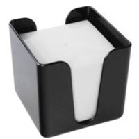 Q-Connect Black Memo Box 90x90