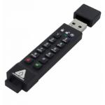 Apricorn 64GB Aegis Secure Key 3z USB flash drive USB Type-A 3.2 Gen 1 (3.1 Gen 1) Black