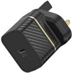 OtterBox UK Wall Charger 20W - 1X USB-C 20W USB-PD, black