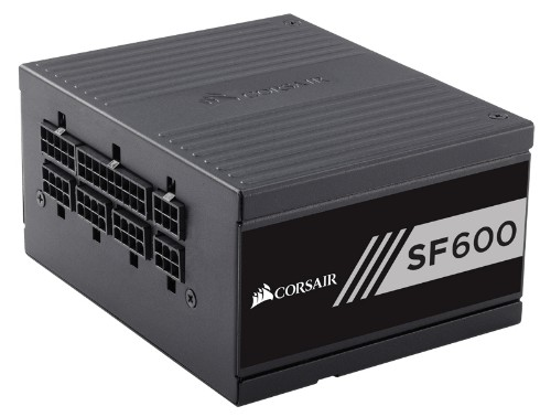 Corsair SF600 power supply unit 600 W 24-pin ATX SFX Black