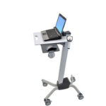 Ergotron Neo-Flex Laptop Cart computer desk Grey