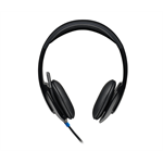Logitech 981-000482 Binaural Head-band Black headset