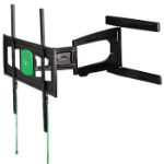 Hama 00108751 flat panel wall mount Black