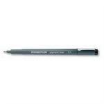 Staedtler pigment liner 308 fineliner Black 10 pc(s)
