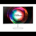 "Samsung SyncMaster C27H711 27"" Wide Quad HD VA Matt White computer monitor"