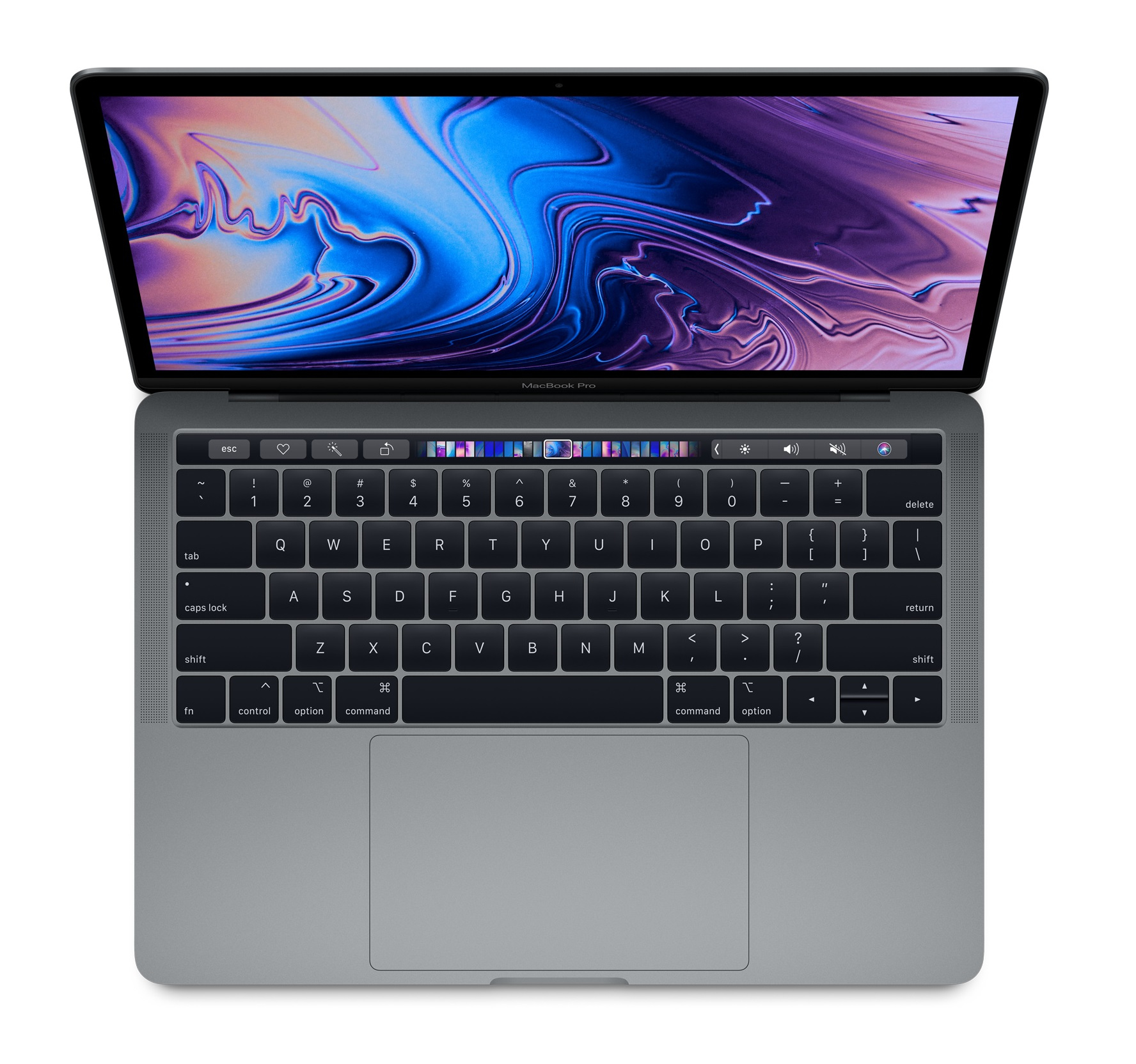 MacBook Pro - 13in - i5 2.3GHz - 8GB Ram - 256GB SSD - Touch Bar And Touch Id - Intel Iris Plus Graphics 655 - Space Gray - Qwerty Uk