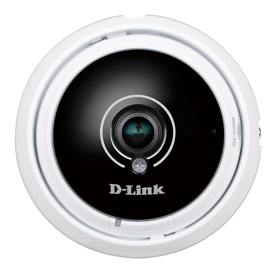 D-Link DCS-4622 IP security camera Indoor Dome Black, White 1920 x 1536pixels security camera