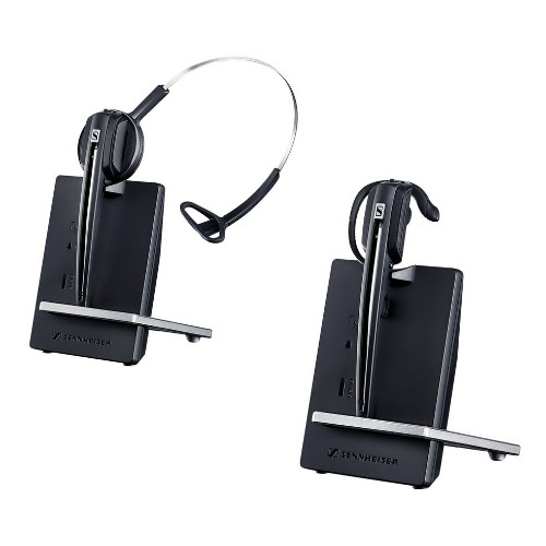 Sennheiser D 10 PHONE Monaural Ear-hook, Head-band Black
