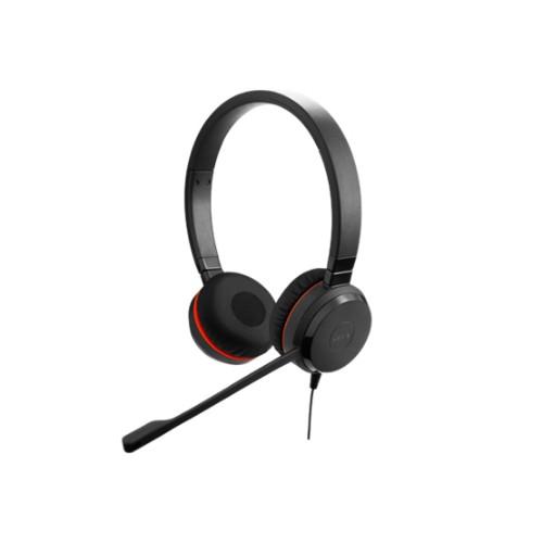 Jabra Evolve 30 II UC Stereo Headset Head-band Black