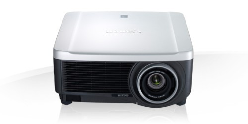 Canon XEED WUX500 data projector 5000 ANSI lumens LCOS WUXGA (1920x1200) Desktop projector Black,Silver