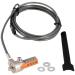 V7 Cable de seguridad portátil con candado