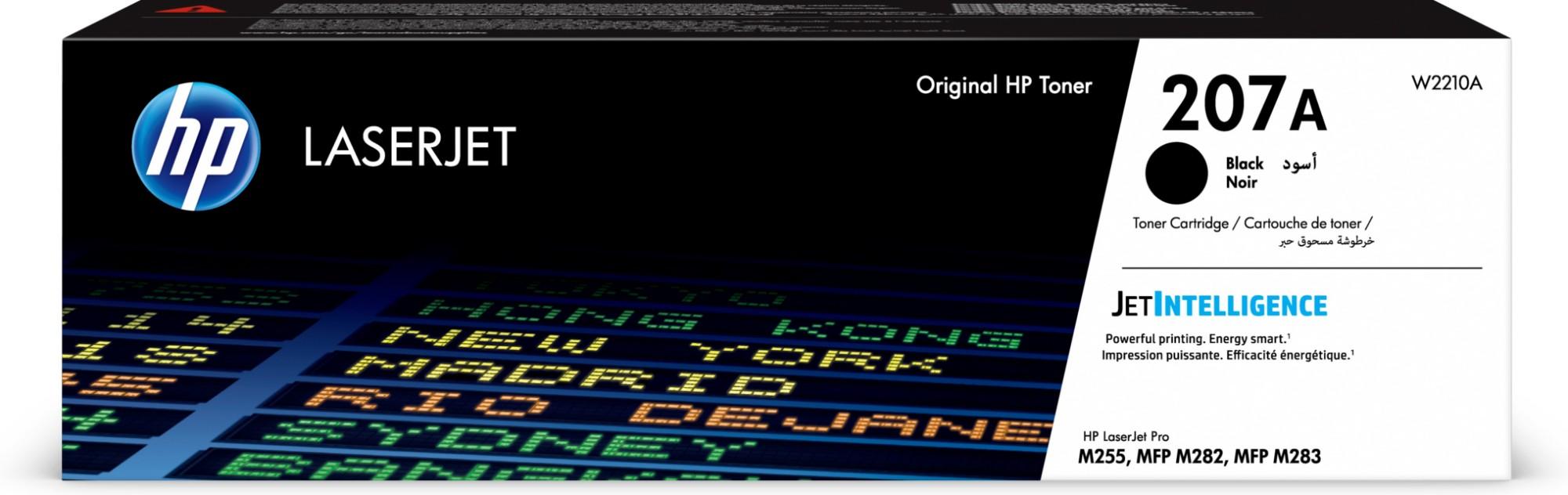 HP 207A Origineel Zwart 1 stuk(s)