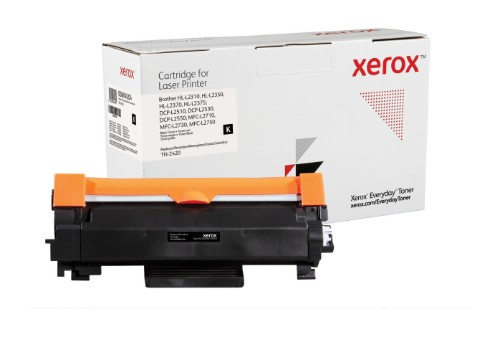 Xerox 006R04204 compatible Toner black, 3K pages (replaces Brother TN2420)