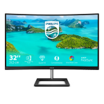 "Philips E Line 325E1C/00 computer monitor 80 cm (31.5"") 2560 x 1440 pixels Quad HD LCD Black"