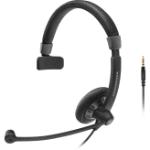 Sennheiser SC 45 Monaural Head-band Black headset