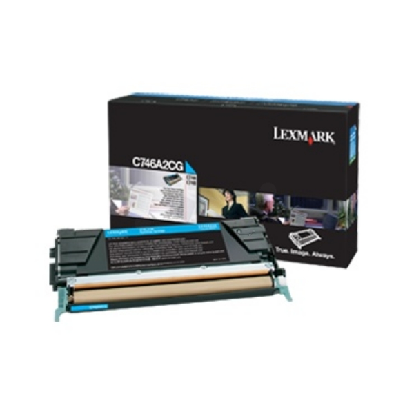 Lexmark C746A3CG Toner cyan, 7K pages