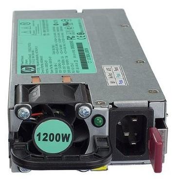 Hewlett Packard Enterprise 498152-001 1200W Black,Silver power supply unit
