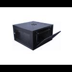 Dynamode CAB-W6U-EL300 rack cabinet 6U Wall mounted rack Black