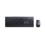 Lenovo 4X30H56809 keyboard RF Wireless QWERTZ German Black