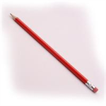 White Box WB CONTRACT PENCIL RUBBER TIPPED
