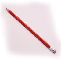 Contract Pencil/Eraser Tip Pk12