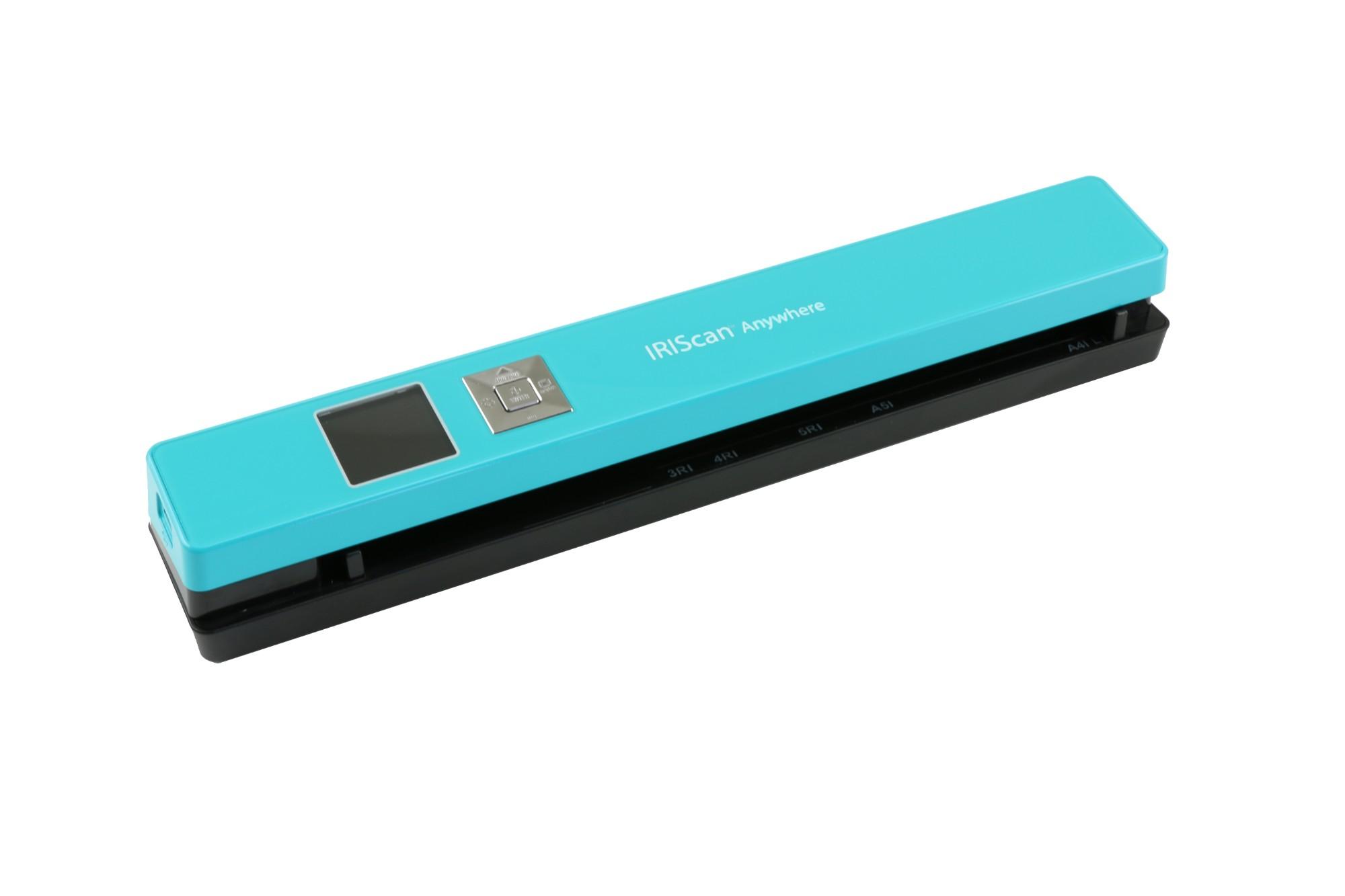 I.R.I.S. IRIScan Anywhere 5 1200 x 1200 DPI ADF scanner Turquoise A4