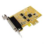 Sunix MIO6479AL PCIE 2-port Serial RS-232 & 1-port Parallel IEEE1284 Card - Low Profille
