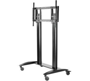 Peerless SR598 multimedia cart/stand Black Flat panel
