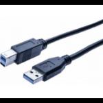 Hypertec 532467-HY USB cable 1.8 m 3.2 Gen 1 (3.1 Gen 1) USB A USB B Black