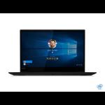 "Lenovo ThinkPad X1 Extreme Black Notebook 39.6 cm (15.6"") 3840 x 2160 pixels 9th gen Intel® Core™ i7 32 GB DDR4-SDRAM 1000 GB SSD Windows 10 Pro"